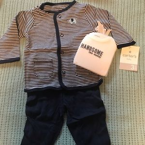 Carter's boys 3 piece set